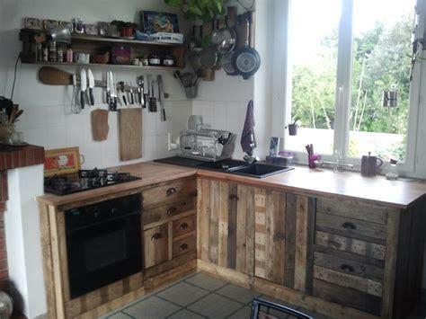 cuisine palette fabriquer meuble cuisine trendy actagare with fabriquer