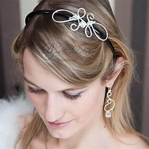 Accessoires Cheveux Courts : accessoire coiffure mariage cheveux courts bijoux volutes mariage ~ Preciouscoupons.com Idées de Décoration