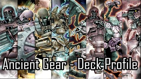 Yugioh Ancient Gear Deck 2014 by Yu Gi Oh Ancient Gear Deck Profile April 2014