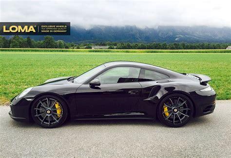 porsche turbo felgen der porsche 991 turbo s mit 21 quot zoll alufelgen loma wheels 6speedonline porsche forum