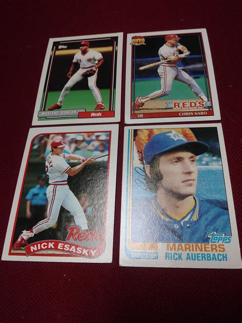 Check spelling or type a new query. Four Topps Baseball cards from the 80s & 90s   Baseball cards, Baseball, Cards