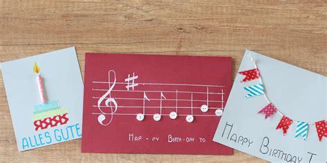 geburtstagskarten basteln für frauen diy verschiedene geburtstagskarten basteln mydays magazin