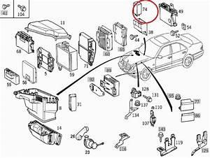 Mercedes W210 Kickdown Relay 0035453205   0035453205