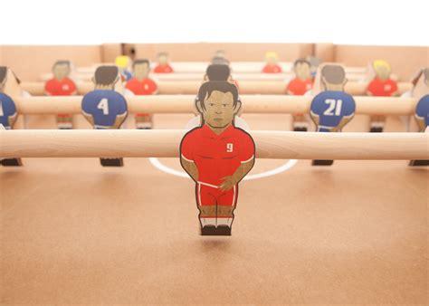 kartoni cardboard foosball table  kickpack