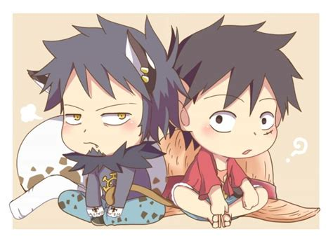 1301 Best Images About Trafalgar Law And Monkey D. Luffy