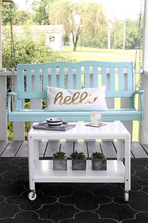paint ideas for porch swing the secret to a flawless furniture finish