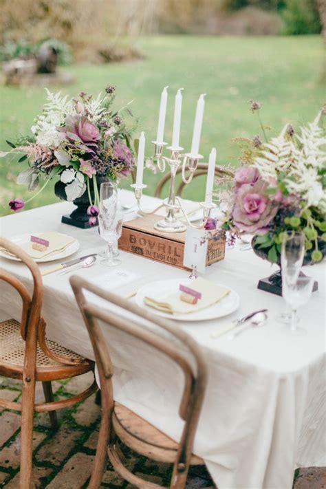 Rustic outdoor wedding table chic Fab Mood Wedding