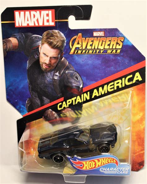Captain America  Hot Wheels Character Cars Marvel