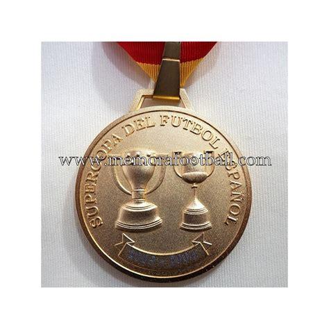 real zartagoza supercopa de espana   medalla de campeon