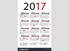 Public Holidays 2017 monthly calendar 2017