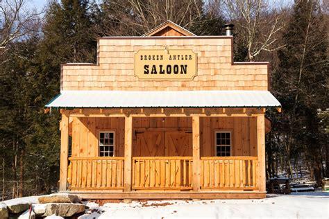 Backyard Saloon western saloons designed built the barn yard great