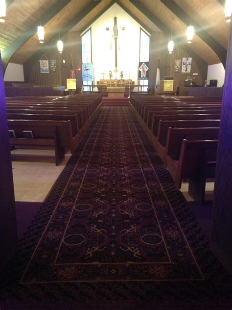 church   carpet schuster design studio