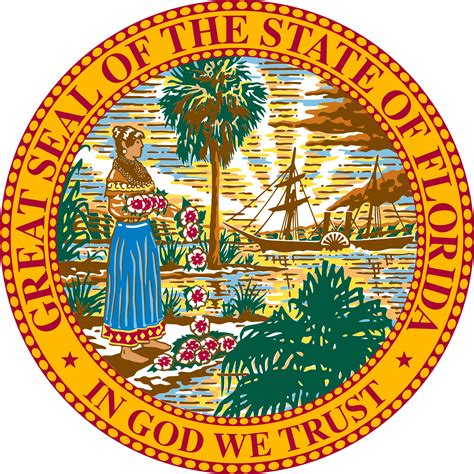 Pretty Florida State Symbols 21 2000px Seal Of Svg