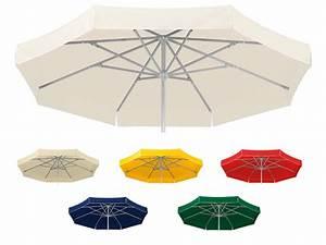 Sonnenschirm schneider jumbo o400cm rund stockschirm for Französischer balkon mit sonnenschirm jumbo