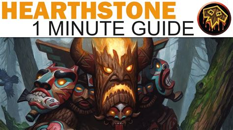 Hearthstone Grand Tournament Totem Deck by Hearthstone 1 Minute Guide Totem Shaman The Grand