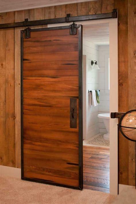 wooden bathroom stools steel frame reclaimed barn doors evolutions