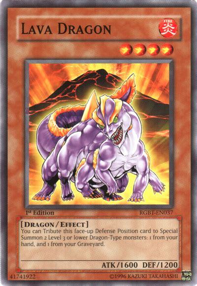 Lava Dragon  Yugioh!  It's Time To Duel