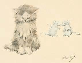 drawings of cats file cat and mice drawing jpg wikimedia commons