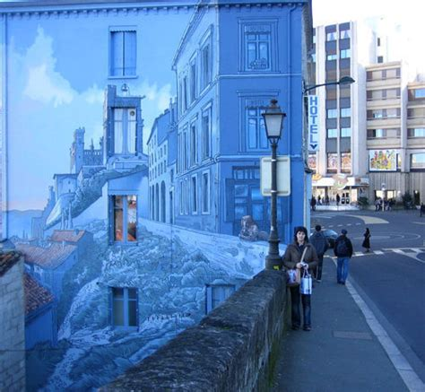 wall 3d painting 60 marvellous wall paintings and 3 d street art noupe