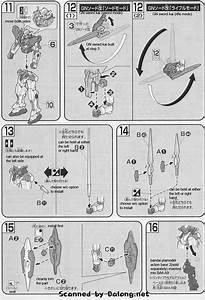 Hg Gundam Exia Repair Ii English Manual  U0026 Color Guide