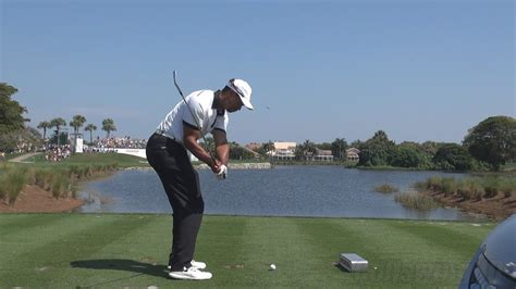 Tiger Woods Iron Shot