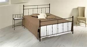 Bett Komforthöhe 180x200 : doppelbett aus metall 180x200 in komforth he astara ~ Markanthonyermac.com Haus und Dekorationen