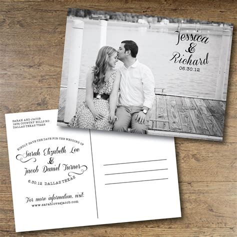 save the date postcard template chandeliers pendant lights
