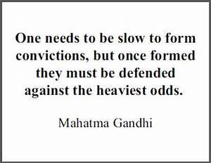 Gandhi Quote on... Printable Gandhi Quotes