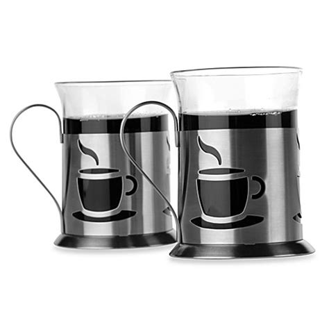 Buy Berghoff® Cook & Co 2piece Coffee Cup Set From Bed