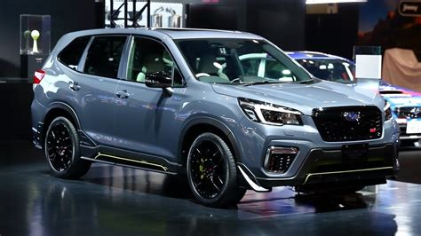 Forester Sti Breaks Cover In Tokyo; It's The One You Want