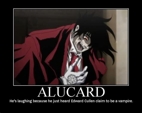 Alucard Laughing At Twilight By Teamalucard On Deviantart