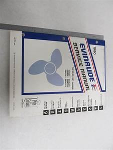 1980 Evinrude Outboard Service Manual 50 55 60 Hp