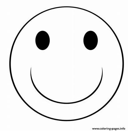 Emoji Coloring Smile Pages Printable Info
