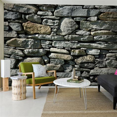custom  photo stone brick wall wallpaper country style