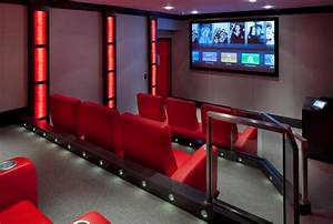 Laurel Woods Home Theater - Contemporary - Home Theater ...