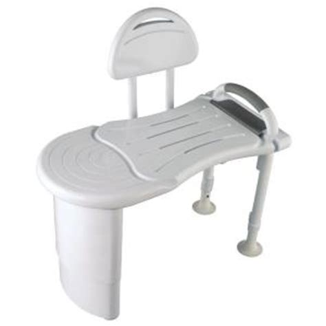 safety first designer solid surface tub transfer bench in