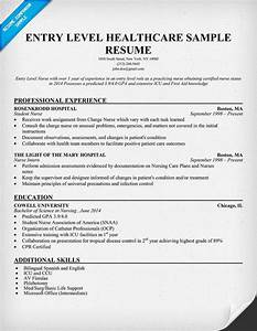 entry level healthcare resume example http With health resume template