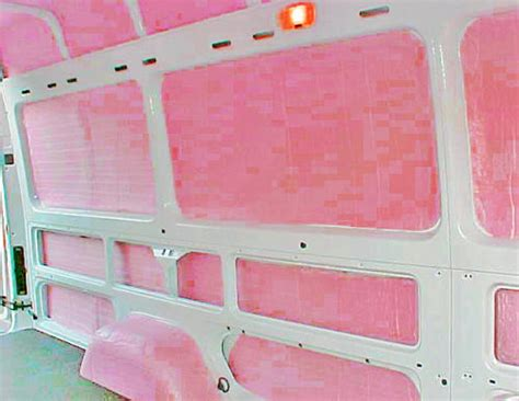 custom sprinter van insulation kit sprinter van custom