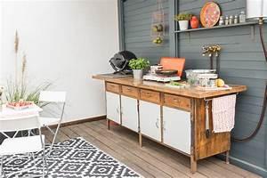Garten Küche Ikea : diy upcycling outdoor k che aus einer werkbank leelah ~ Lizthompson.info Haus und Dekorationen