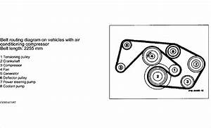 I Have A 1993 Mercedes 300e With A 3 2 Ltr I Need A Serpentine Belt Diagram
