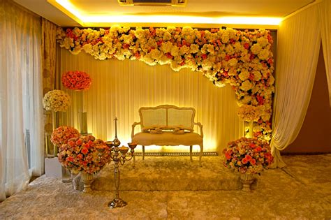 simple sweetheart stage decorations wedding stage