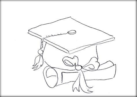 graduation cap coloring page coloring home