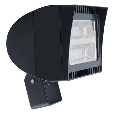277 volt led flood lights rab lighting 92636 105 watt 120 277 volt 5000k bronze