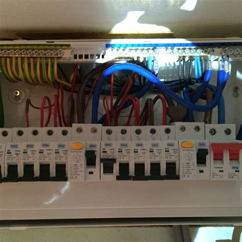 how to install a 17th edition consumer unit 17th edition consumer unit upgrade 09 02 2016 farm electrical electrician in