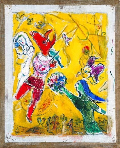 'The Dance and the Circus', Marc Chagall | Tate