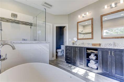 transitional master bathroom transitional bath design