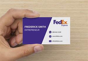 Fedex business card mockup design by ianmaiguapictures on for Business card fedex