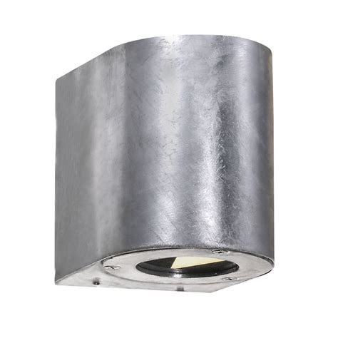 nordlux canto outdoor led wall light nordlux canto outdoor led wall light galvanised