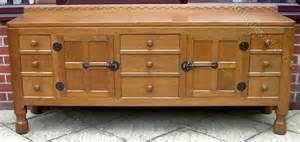 6 Foot Sideboard by Antiques Atlas A Mouseman Solid Oak 6 Foot Sideboard