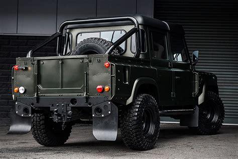 Defender Truck by Kahn Land Rover Defender Cab Truck Uncrate